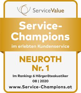 Srevice-champion Neuroth - Siegel